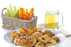 Assortment of greek appetizers Royalty Free Stock Images