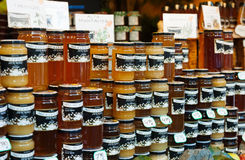 Assortment of honey Royalty Free Stock Photography