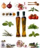 Assortment of Ingredients stock photo