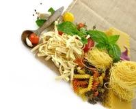 Assortment Of Italian Pasta Stock Photo