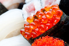 Assortment of Japanese Sushi Stock Photos