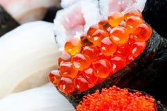 Assortment of Japanese Sushi Stock Photos