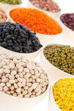 Assortment legumes Royalty Free Stock Photos