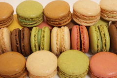 Assortment of macaroons Royalty Free Stock Image