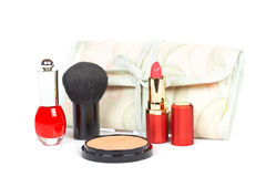 Assortment of makeups Stock Photography