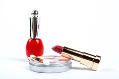 Assortment of makeups Stock Images