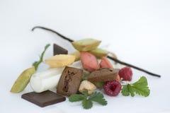 Assortment of mini cakes Royalty Free Stock Image