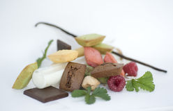 Assortment of mini cakes Royalty Free Stock Photo