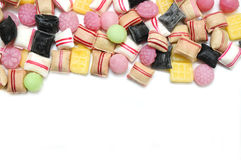 Assortment of Mixed Candies. Stock Photography