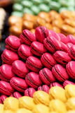 Assortment of multicolored macaroons Royalty Free Stock Photos