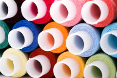 Assortment of multicoloured threads Royalty Free Stock Photography