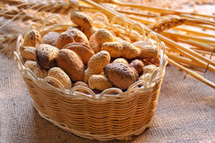 Assortment of nuts Stock Photo