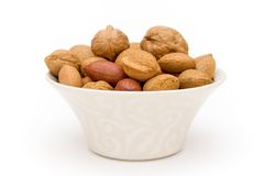 Assortment of nuts Royalty Free Stock Photo