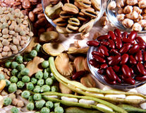 Free Assortment Of Dried Legumes Royalty Free Stock Photos - 27961818