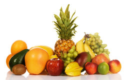 Assortment Of Exotic Fruits Stock Image
