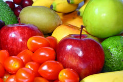Assortment Of Fresh Fruit Royalty Free Stock Photo