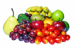 Assortment Of Fresh Fruit Stock Photo