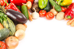 Assortment Of Fresh Vegetables Royalty Free Stock Images