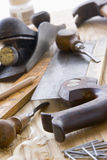 Assortment Of Old-Fashioned Tools royalty free stock image