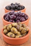 Assortment of olives Stock Photo