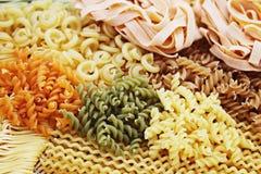 Assortment of pasta Stock Image