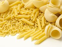 Assortment of pasta Royalty Free Stock Photos
