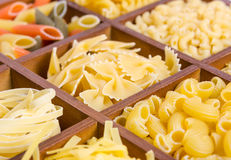 Assortment of pasta Stock Images