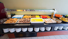 Assortment of  pastry   in buffet Stock Photos