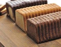 Pound Cakes Stock Photos