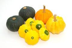 Assortment of pumpkins Royalty Free Stock Photos