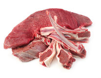 Assortment of raw meat Stock Photos