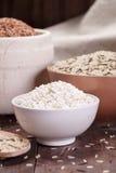 Assortment of rice Stock Photo