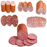 Assortment of Sausage. Stock Photo