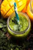 Assortment of smoothies Royalty Free Stock Images