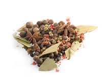 Assortment Spices Stock Images