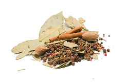 Assortment Spices Stock Photography