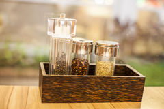 Assortment of spices Stock Images