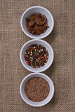 Assortment of Spices Stock Photo