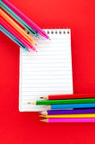 Assortment of stationery Royalty Free Stock Photo