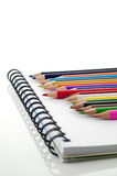 Assortment of stationery Stock Images