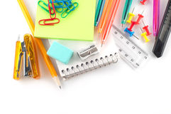 Assortment of stationery Royalty Free Stock Photos