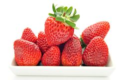 Assortment of strawberries Royalty Free Stock Photo