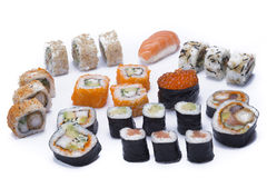 Assortment sush Royalty Free Stock Photography