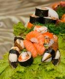 Assortment of Sushi Stock Image