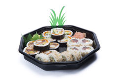 Assortment sushi Royalty Free Stock Images