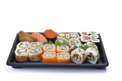 Assortment sushi Stock Photo