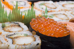 Assortment sushi Royalty Free Stock Image