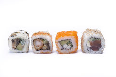 Assortment sushi Stock Photos