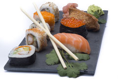 Assortment sushi Royalty Free Stock Photos