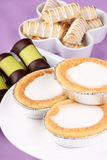 Assortment of Swedish and Danish sweets Royalty Free Stock Photo
